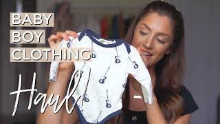 AFFORDABLE NEWBORN CLOTHING | BABY BOY HAUL