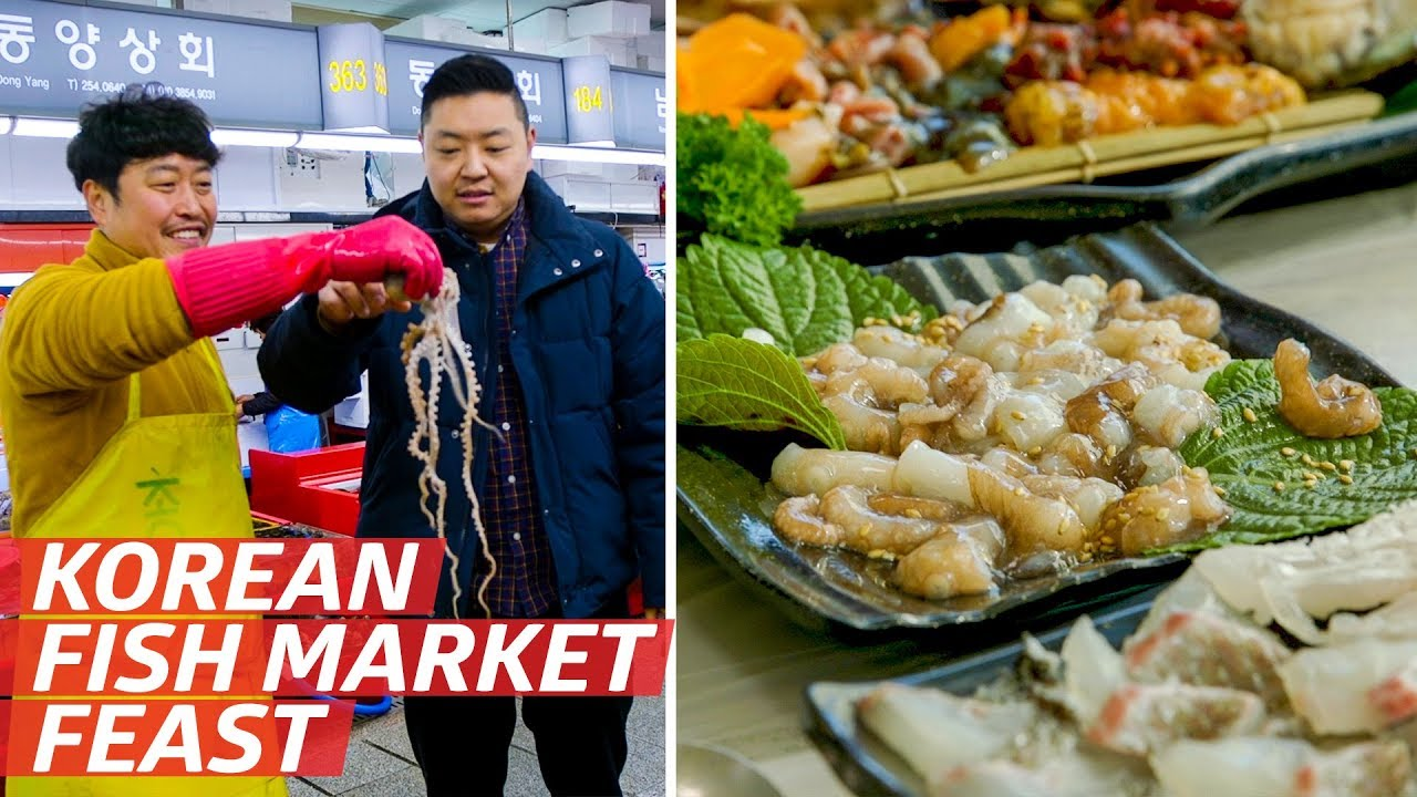 Why Jagalchi Market is One of the Best Places to Eat Seafood on Earth — K-Town thumbnail