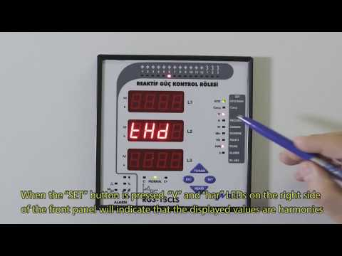 RG3-15 CLS Power Factor Controller Voltages
