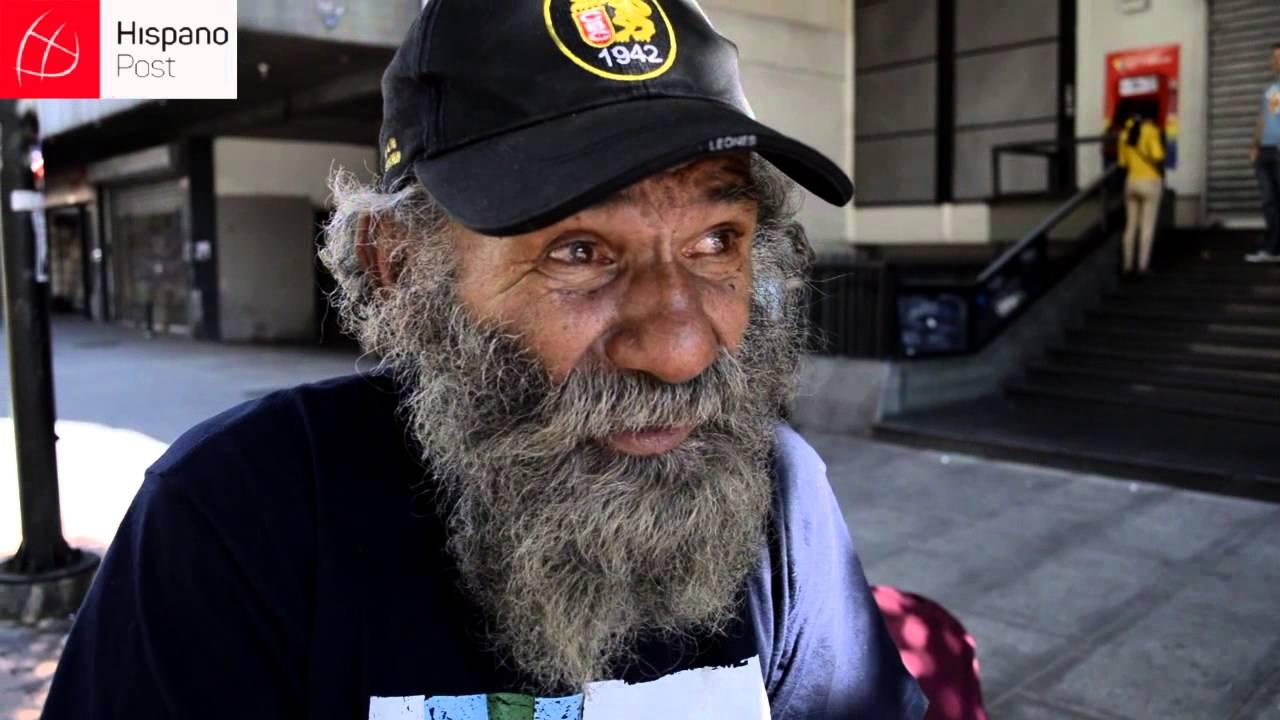 El poeta callejero de Caracas