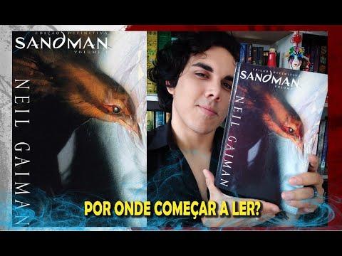 """Guia de Leitura """"SANDMAN"""" - O Universo Literário de Neil Gaiman"""