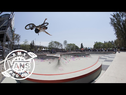 2017 Vans BMX Pro Cup Series: Jason Watts - 1st Place Run in Mexico | BMX Pro Cup | VANS
