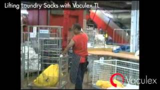 Lifting Laundry Sacks with Vaculex TL