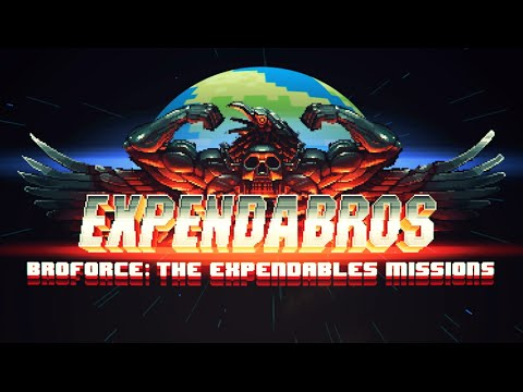 The Expendebros is Broforce Meets The Expendables — And It's Free!
