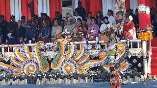 Presiden Jokowi Ajak Keluarga Saksikan PKB 2019 di Bali