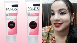 PONDS WHITE BEAUTY FACE WASH REVIEW   OILY SKIN   DRY SKIN   BEST FACE WASH   