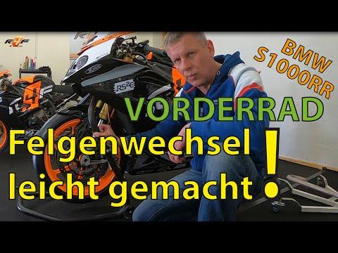 Vorderradwechsel S1000RR mit Tipps - TEIL 1 - racing4fun.de Tipps & Tricks