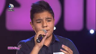 Raul Eregep canta I will always love you – Auditii Saptamana 1 – KIDSing 2014