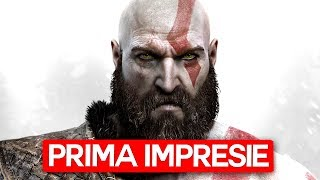 GOD OF WAR 2018 - Prima Impresie - 3 Ore (LIVE)