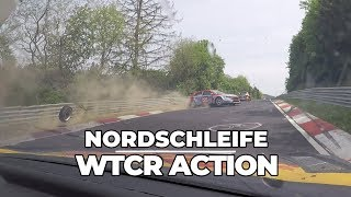 Action packed races at the Nurburgring Nordschleife in the WTCR with Tom Coronel