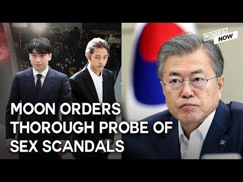 S. Korean President orders thorough probe into sex scandal involving K-pop stars, 'Burning' director
