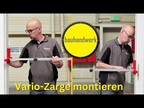 Montage der VarioFix-Zarge von Hörmann