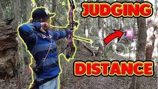 judging distances 3d archery practice with paper targets
