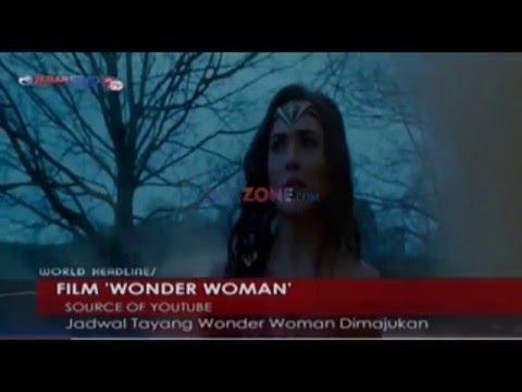 Jadwal tayang film wonder woman dimajukan