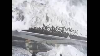 Тайфун Чаба смывает Пусан, часть II