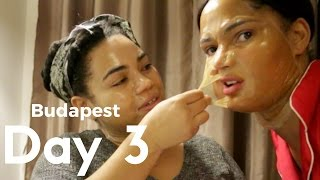 Budapest Vlog day 3 : delicious hungarian chimney cake, Locked room and H and M beauty mask