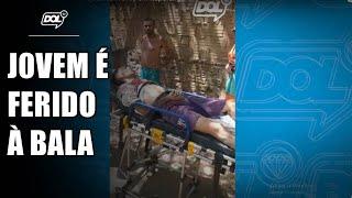 Tentativa de homicídio: jovem é alvejado com tiros em Itaporanga