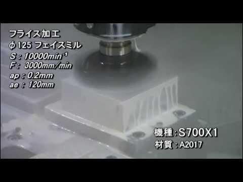 S700X1 高トルク アルミニウム 加工事例