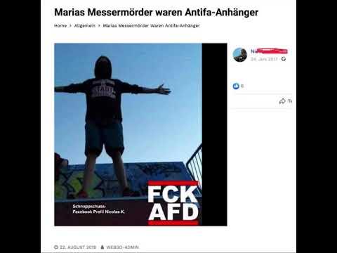 Marias Messermörder waren Antifa-Anhänger