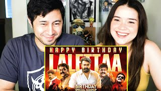 MOHANLAL Birthday Special Mashup | Linto Kurian | Reaction | Jaby Koay