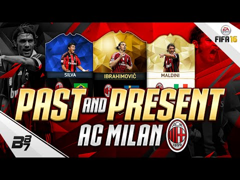 PAST AND PRESENT AC MILAN SQUAD BUILDER | FIFA 16 Ultimate Team