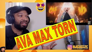 AVA MAX   TORN NEW OFFICIAL MUSIC VIDEO REACTION BY NJCHEESE 🧀
