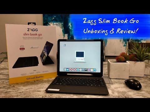 Zagg Slim Book Go | Better Than Apple Slim Folio? (Fixed)