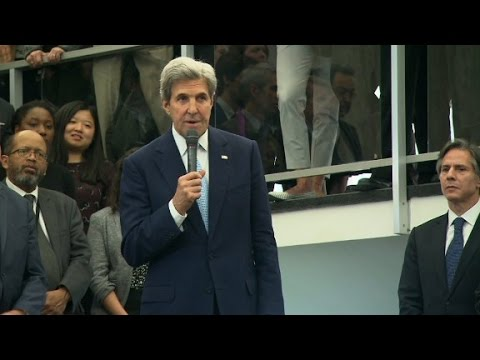 John Kerry says goodbye