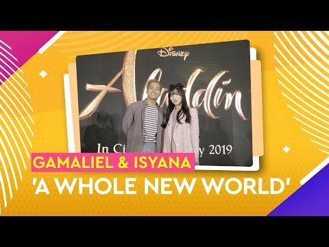Gamaliel & Isyana Sarasvati Bawakan 'A Whole New World'