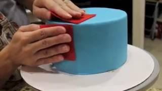 How I Get Sharp Edges On My Cakes...