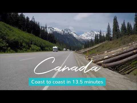 Watch – Cycling Across Canada in 13 minutes