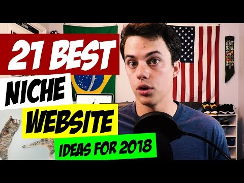 Top 21 Niche Website Ideas for 2018