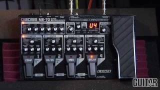 Boss ME 70 Guitar Effects Processor