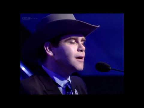 Elton John - Blue Eyes (Top of the Pops) 1982 - HD