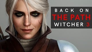 The Witcher 3 - Back on the Path - Geralt Versus Ciri MODDED Gameplay