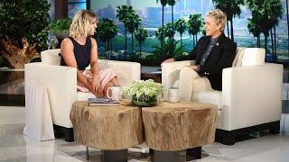 Kaley sur le plateau d'Ellen DeGeneres (23.02.2016)