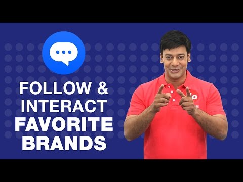 How to interact with your favorite brands on JioChat?