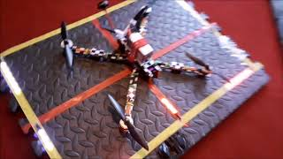 9 INCH FPV QUADCOPTER WITH BUILT IN 1080P CAMERA, ETC, SET UP AND TEST FLY