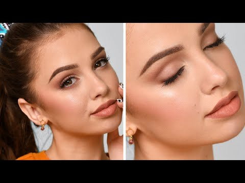 Download EVERYDAY NATURAL Makeup Tutorial Mp4 HD Video and MP3