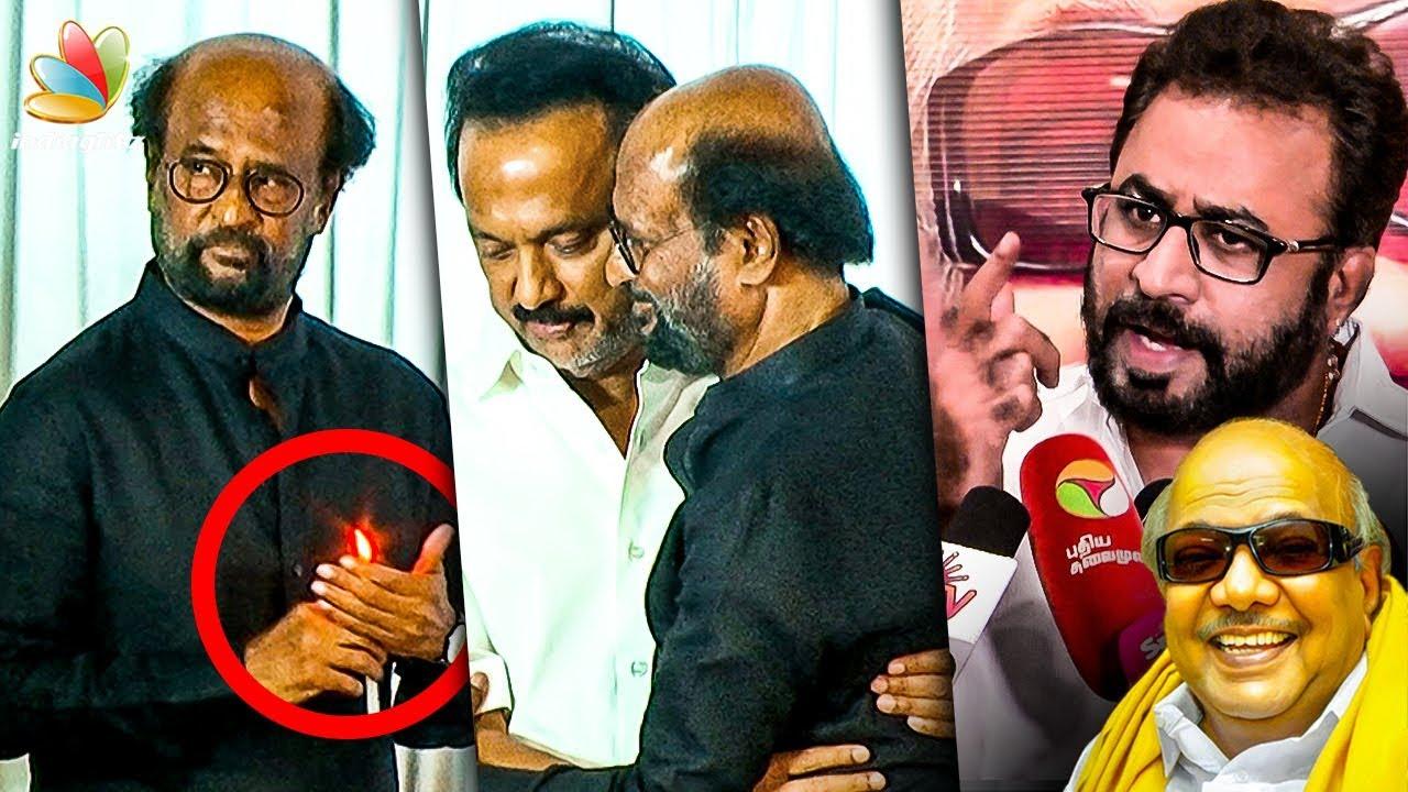 அவர அரசியல் தலைவரா பார்க்கல : Ponvannan Nadigar Sangam condolence meeting for Kalaignar