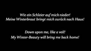 Svbway To Sallys 'Schneekönigin' (English Lyrics)