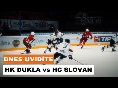 DNES UVIDÍTE: Hokejový duel medzi HK DUKLA Ingema Michalovce a HC SLOVAN Bratislava