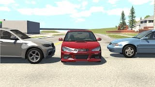 Instant Karma & Car Near Miss Compilation - BeamNG Drive