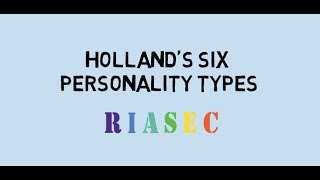 Holland's Personality Types