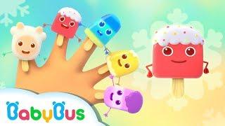Baby Panda Loves Fruit Ice Pops | Ice Cream Truck | Dessert Songs | BabyBus