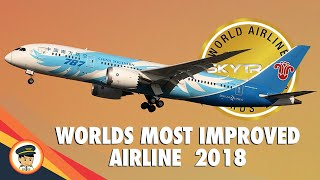 WORLDS Most IMPROVED Airlines 2018 (SKYTRAX)