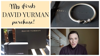 My First DAVID YURMAN Purchase!