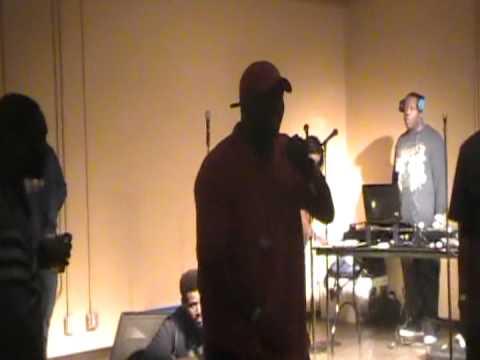 Calhoun Da Pacman's Live Performance at UW Parkside 9/20/12