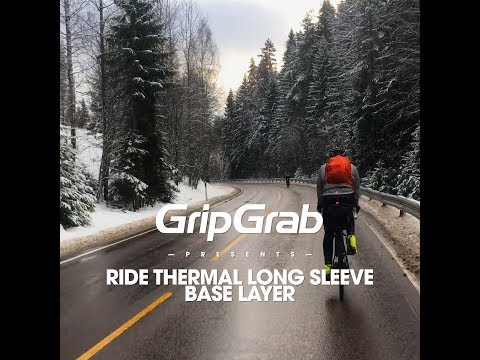 GripGrab Ride Thermal Base Layer Sort video