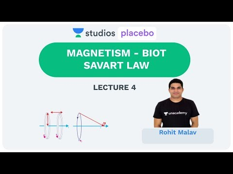 L4: MAGNETISM- BIOT SAVART LAW | Complete Physics for 12th (Pre-Medical-NEET/AIIMS) | Rohit Malav